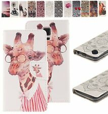 Fashion Magnetic Flip Cover Stand Wallet Leather Case For Samsung Galaxy Models