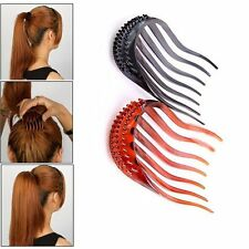 Women Lady Hair Styling Clip Maker Ponytail Holders Braid Tool Hair Accessories