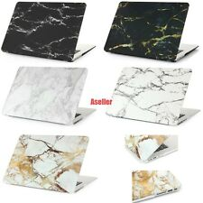 "For Macbook Air 11"" 11.6"" Marble Painted Frosted Matte Hard Shell Case Cover"