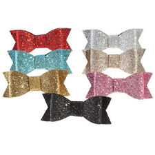 Bling Women Girls Sequins Big Bowknot Barrette Hairpin Hair Clips Hair Bow