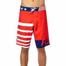 Fox Racing Red, White and True Boardshort Red