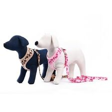 Pet Dog Collar Harness Leash 3pcs/Set Puppy Dog Adjustable Harness Leash Collar