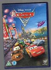 Disney Cars 2 DVD watched Once So In Very Good Condition Watched Once