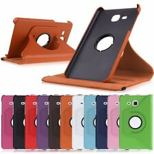 """360 Rotating Flip PU Leather Case Cover For 7"""" Samsung Galaxy Tab A 7.0 SM-T280"""