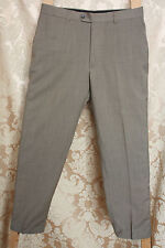 MENS Designer JEFF BANKS Green Trousers Size 34 SHORT * FINAL CLEARANCE
