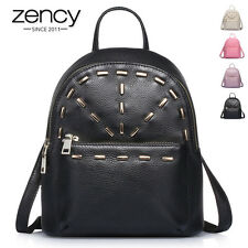 2 Size BNWT Fashion Genuine Leather Ladies Rucksack Handbag BACKPACK School Bag