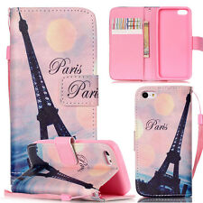 Luxury-YB Eiffel Tower Magnetic Wallet Leather Case Cover For Call phone