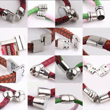 New 5 Sets DIY Silver Plated Tone Strong Magnetic Clasps Hooks Jewelry Findings