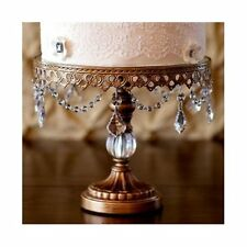 Opulent Treasures 3 Piece Ball Base Chandelier Cake Plate Stand Set