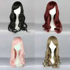 Synthetic Fashion Women Sexy Wig 60cm Long Curly Halloween Party Cosplay Wig