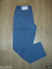 Patagonia Women's Stretch All -Wear Chinos Capris Slim Fit Blue UK 8 & 10 New