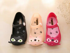 Girls Cute Jelly Sandals Kids Girls Soft Walking Shoes Comfy Slip on Shoes