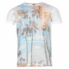 SoulCal Mens Sub T Shirt Crew Neck Short Sleeve Summer Casual Tee Top