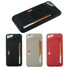 Fashion For iPhone 6 4.7inch Luxury Leather Card Slot Shell Case Cover Elegant