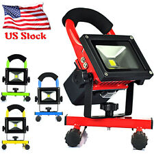Portable Caravan 10W Rechargeable Flood LED Spot Work Light Camping Hiking Lamps