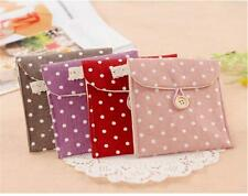 Women Lady Sanitary Napkin Towel Pads Small Bag Purse Holder Organizer Hot JG