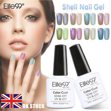 Elite99 Shell Gel Polish Pearl UV LED Elegant Soak Off Nail Salon Manicure Kit
