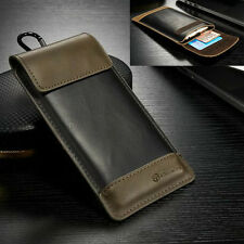 Sllim Outdoor Sports Wallet Pocket Leather Pouch Sleeve Cover Case For LG Phones