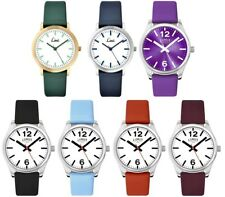 Limit Classic White Dial Leather Strap Ladies Watch
