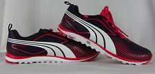 NEW Women's Puma FAAS Lite Spikeless Golf Shoes Black Pink White size 7.5