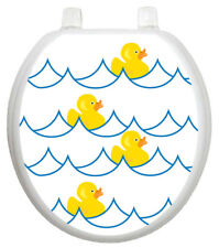 Toilet Tattoos Youth Rubber Ducky Toilet Seat Decal