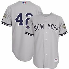 2008 Mariano Rivera New York Yankees Authentic On-Field Grey Road Jersey Men's