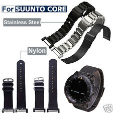 【HOT】Luxury Nylon/Steel Watch Band Strap 3 Ring Lugs Adapters For Suunto Core