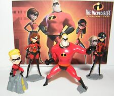 Disney The Incredibles Figure Set of 4 Individually Packaged Dash Violet Etc