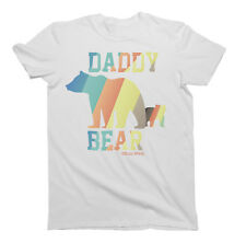 Daddy Bear Fathers T-Shirt Gift For Dad Birthday Fathers Day Christmas Daddy