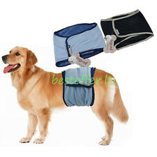 Male Pet Dog Belly Wrap Band Diaper Pant Sanitary Training Incontinence Washable