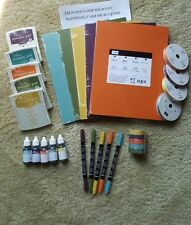 Stampin Up IN COLOR '14-'16 Cardstock Ink Pad Refill Marker Ribb  (New)-U Choose