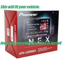 "Jeep Wrangler 03-16 Pioneer AVH-4200NEX 7"" DVD Receiver Bluetooth Navigation MP3"