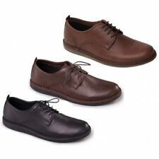Padders JAKE Mens Soft Leather Lace-Up Lined Wide Fit Comfort Smart Casual Shoes