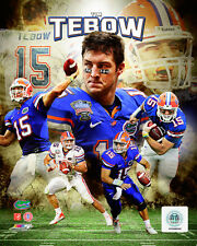 Tim Tebow Florida Gators Football Licensed Fine Art Prints (Select Photo & Size)
