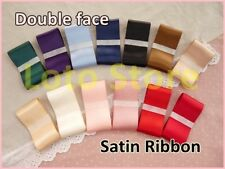 "1 1/2"" 38mm Double face Wedding Gift Satin hairbow dress Ribbon Craft"