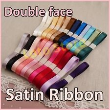 "5/8"" 16mm Double face Wedding Gift Satin Ribbon Craft hairbow dress scrap"