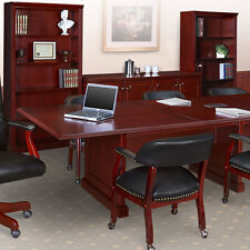 8' - 24' TRADITIONAL CONFERENCE ROOM TABLE Meeting Boardroom 10 12 16 20 ft foot