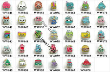 10pcs Fruit Baby floating Charms For Living Memory Glass Floating Charm Locket