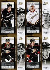 13/14 PANINI CONTENDERS HOCKEY BASE TEAM SETS (ANA-WIN) U-Pick Team From List