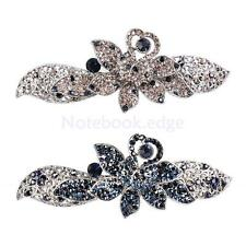 1 Brooch Pin Butterfly Flower in Alloy Love Rhinestone Fashion Crystal Accessory