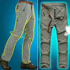Men Hiking Sports Anti-UV Pants Quick Dry Breathable Wicking Stretch Trousers