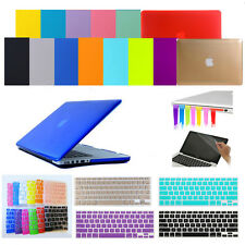 "4in1 Crystal Hard Case Cover Keyboard Skin for Apple MacBook Air Pro 11"" 13"" 15"""