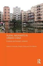 NEW Rural Migrants in Urban China: Enclaves and Transient Urbanism by Paperback