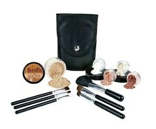 Mineral Makeup Starter Kit Brush Set Foundation Bare Skin Sheer Powder Cover