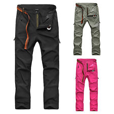 Women Anti-UV Pants Quick Dry Breathable Wicking Hiking Camping Sports Trousers