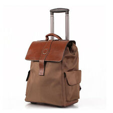 Fashion Unisex Trolley Suitcase Travel Carry-Ons Luggage Outdoor Backpack Totes