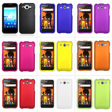 For Huawei Mercury Glory M886 Cricket Colorful Rubberized Hard Case Cover