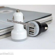 Rapid Dual USB Car Charger 2.1A&1A Output Samsung Galaxy s6 S5 S4 S3 Note 4 3 2*