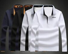 Fashion Winter Warm Mens Underwear T-Shirt Bottoming Long Sleeve Shirt Polo Neck
