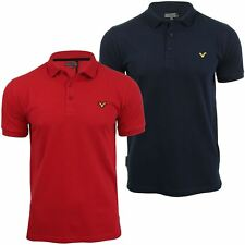 Voi Jeans Mens Pique Polo T Shirt 'Redford Coloured Swirl' Short Sleeved